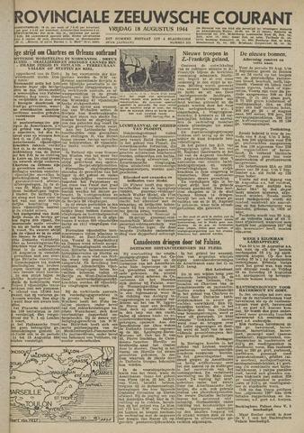 Provinciale Zeeuwse Courant 1944-08-18
