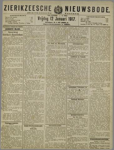 Zierikzeesche Nieuwsbode 1917-01-12