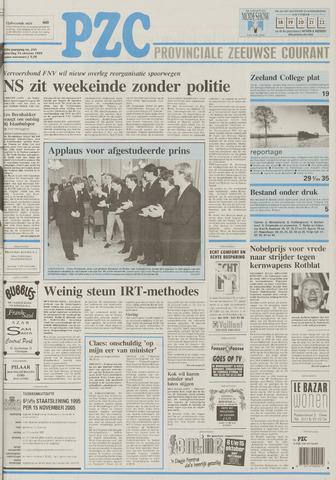 Provinciale Zeeuwse Courant 1995-10-14