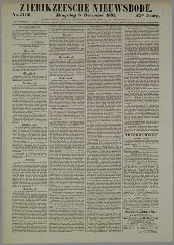 Zierikzeesche Nieuwsbode 1885-12-08