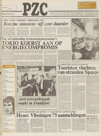 Provinciale Zeeuwse Courant 1979-06-29