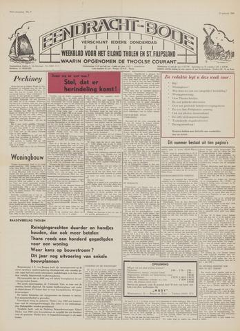 Eendrachtbode (1945-heden)/Mededeelingenblad voor het eiland Tholen (1944/45) 1969-01-23
