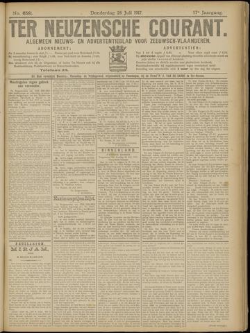 Ter Neuzensche Courant. Algemeen Nieuws- en Advertentieblad voor Zeeuwsch-Vlaanderen / Neuzensche Courant ... (idem) / (Algemeen) nieuws en advertentieblad voor Zeeuwsch-Vlaanderen 1917-07-26