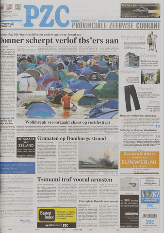 Provinciale Zeeuwse Courant 2005-06-25