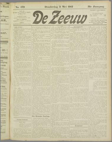 De Zeeuw. Christelijk-historisch nieuwsblad voor Zeeland 1917-05-03