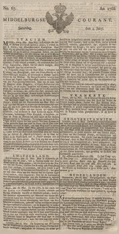 Middelburgsche Courant 1768-06-04