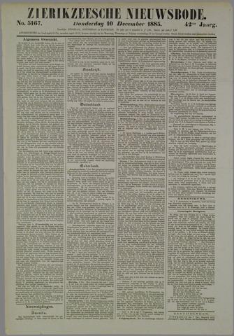 Zierikzeesche Nieuwsbode 1885-12-10