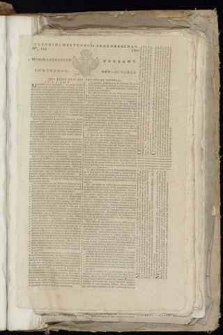 Middelburgsche Courant 1800-10-09