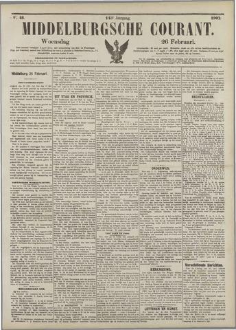 Middelburgsche Courant 1902-02-26