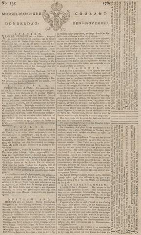 Middelburgsche Courant 1785-11-10