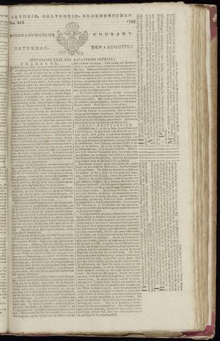 Middelburgsche Courant 1795-08-01