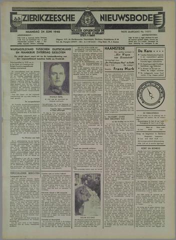 Zierikzeesche Nieuwsbode 1940-06-24
