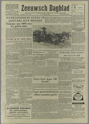 Zeeuwsch Dagblad 1958-02-08