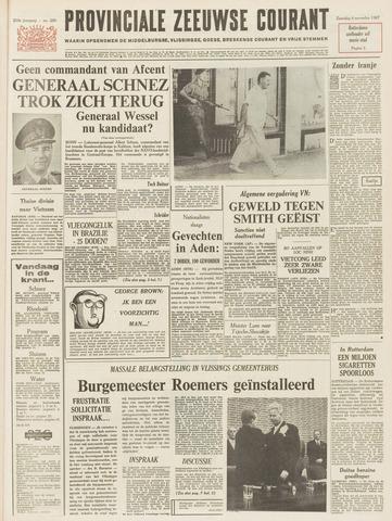 Provinciale Zeeuwse Courant 1967-11-04