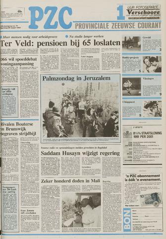 Provinciale Zeeuwse Courant 1991-03-25