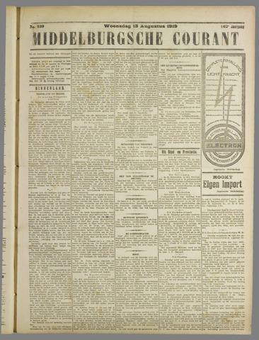 Middelburgsche Courant 1919-08-13