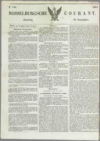 Middelburgsche Courant 1865-09-30