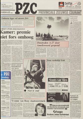Provinciale Zeeuwse Courant 1986-10-30