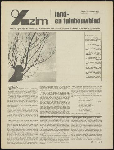 Zeeuwsch landbouwblad ... ZLM land- en tuinbouwblad 1970-11-18