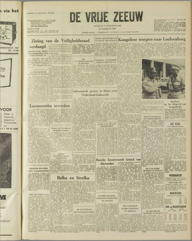 de Vrije Zeeuw 1960-08-23