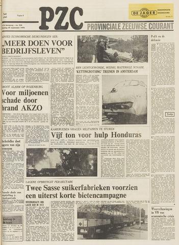 Provinciale Zeeuwse Courant 1974-09-24