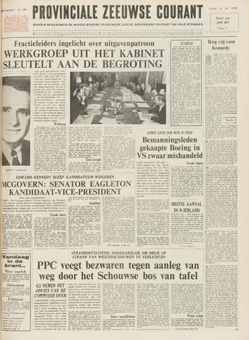 Provinciale Zeeuwse Courant 1972-07-14