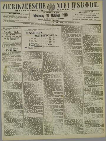 Zierikzeesche Nieuwsbode 1910-10-10