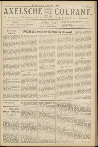 Axelsche Courant 1938-04-26