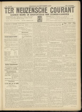 Ter Neuzensche Courant. Algemeen Nieuws- en Advertentieblad voor Zeeuwsch-Vlaanderen / Neuzensche Courant ... (idem) / (Algemeen) nieuws en advertentieblad voor Zeeuwsch-Vlaanderen 1940-09-30