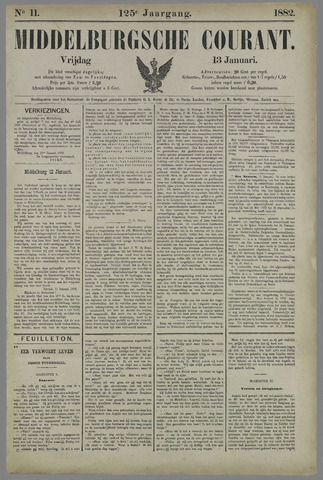 Middelburgsche Courant 1882-01-13