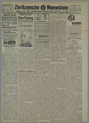 Zierikzeesche Nieuwsbode 1932-12-09