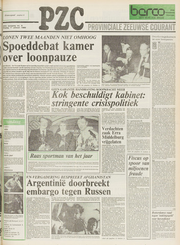 Provinciale Zeeuwse Courant 1980-01-11