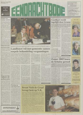 Eendrachtbode (1945-heden)/Mededeelingenblad voor het eiland Tholen (1944/45) 2004-01-22
