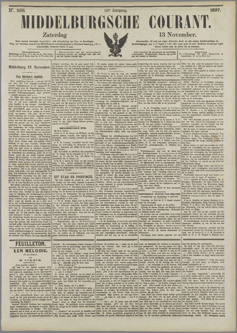 Middelburgsche Courant 1897-11-13