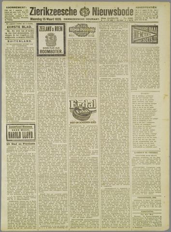 Zierikzeesche Nieuwsbode 1926-03-15