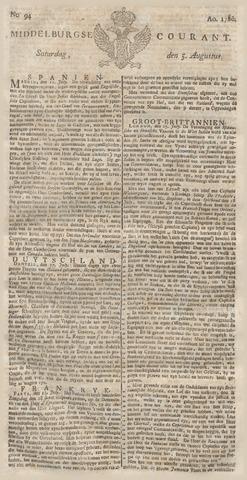 Middelburgsche Courant 1780-08-05