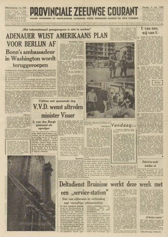 Provinciale Zeeuwse Courant 1962-05-08