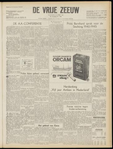 de Vrije Zeeuw 1955-04-25