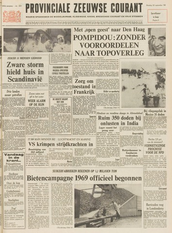 Provinciale Zeeuwse Courant 1969-09-23