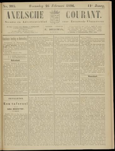 Axelsche Courant 1896-02-26