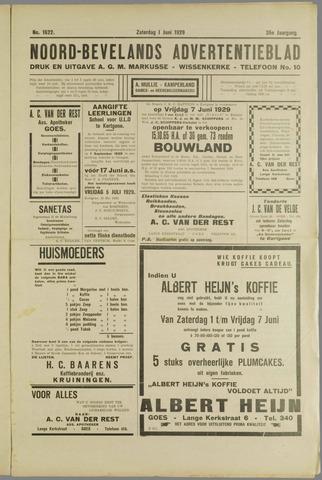 Noord-Bevelands Nieuws- en advertentieblad 1929-06-01