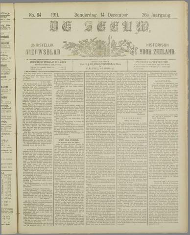 De Zeeuw. Christelijk-historisch nieuwsblad voor Zeeland 1911-12-14