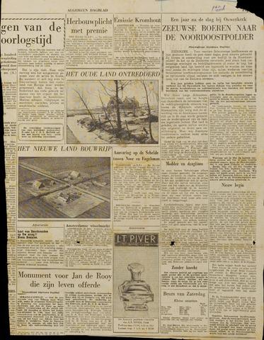 Watersnood documentatie 1953 - kranten 1954-11-22