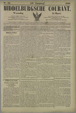 Middelburgsche Courant 1888-03-14