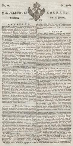 Middelburgsche Courant 1761-01-24