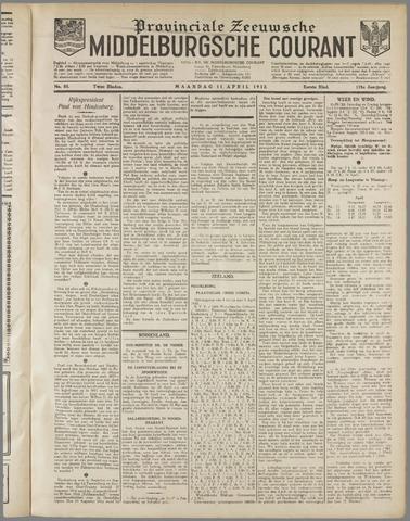 Middelburgsche Courant 1932-04-11