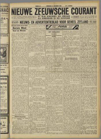 Nieuwe Zeeuwsche Courant 1924-12-31