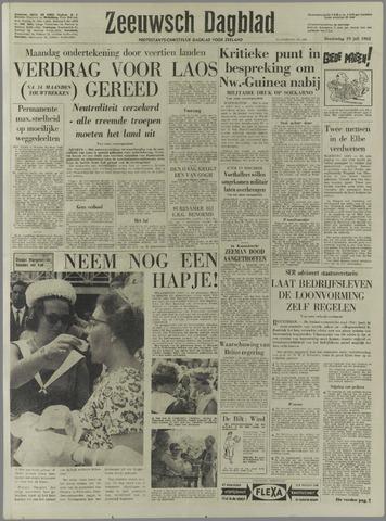 Zeeuwsch Dagblad 1962-07-19