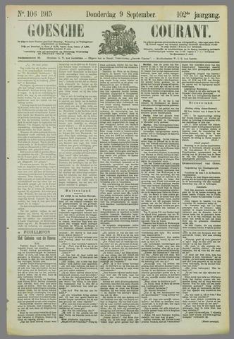 Goessche Courant 1915-09-09