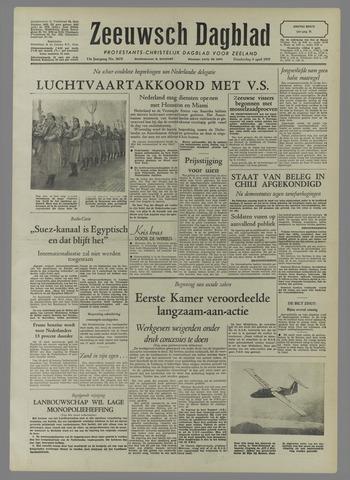 Zeeuwsch Dagblad 1957-04-04